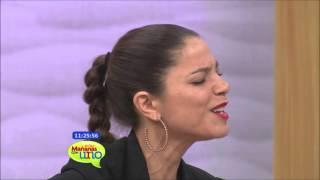 Debi Nova nos presenta su canción 'Por última vez' y Carolina Guerra presenta la película 'Cinco'