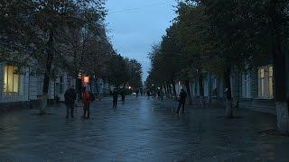 В п'ятницю ввечері будівельники відкрили першу частину відремонтованої Михайлівської- Житомир.info