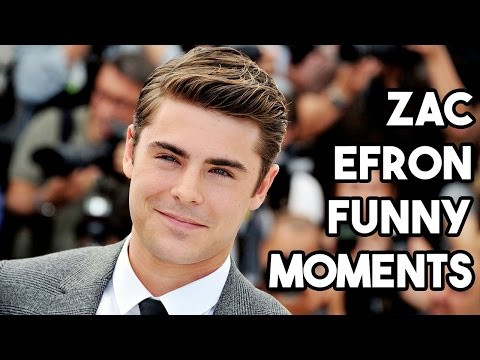 ZAC EFRON FUNNY MOMENTS INTERVIEW COMPILATION
