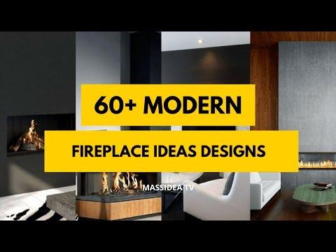 60+ Best Modern Fireplace Designs ideas 2018