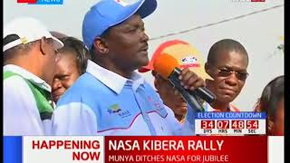 Kalonzo Musyoka says Deputy President William Ruto are business partners with IEBC CEO Ezra Chiloba