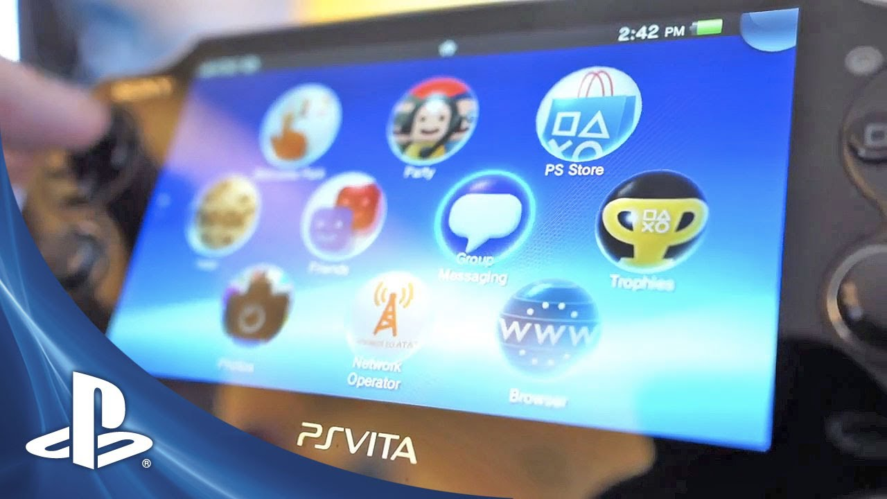 PS Vita System Software Update (v1.80) – Take The Tour