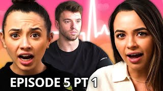 Our Boyfriends take a Lie Detector Test | Twin My Heart w/ The Merrell Twins Season 2 EP 5 Pt 1
