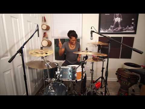 Gospel Drum Cover | Hallelujah You're Worthy to Be Praised