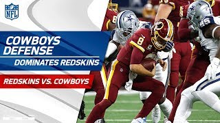Dallas Dominates Washington w/ 4 Sacks & 4 Forced Turnovers | Redskins vs. Cowboys | Wk 13 Player HL