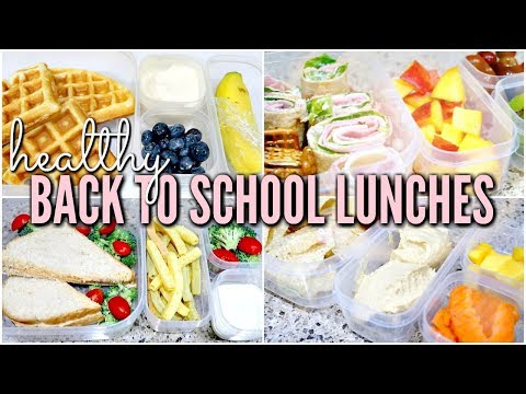 DIY BACK TO SCHOOL LUNCHES IDEAS 2018 | Healthy Bento Box Lunches | Love Meg