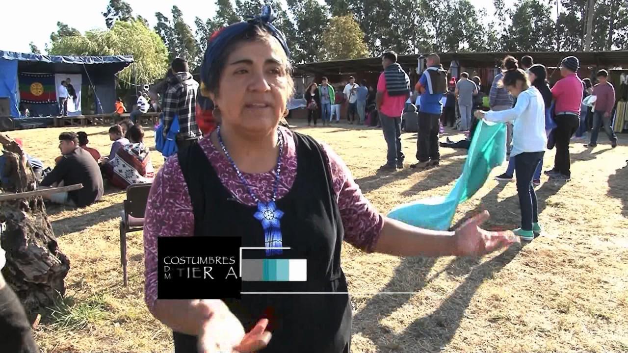 Encuentro de arte y cultura mapuche  en Lleu Lleu