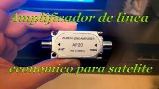 amplificador de línea para satélite económica