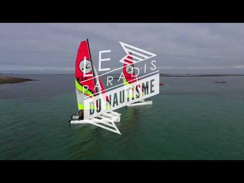 Direction l''archipel des Glénan en Bretagne