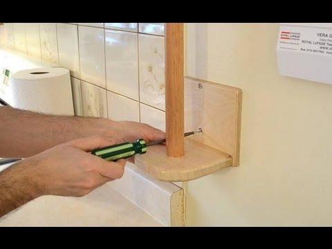Papiertuch-Halter aus Holz - Immer griffbereit!