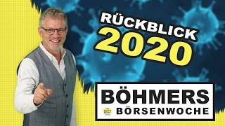 Jahresrückblick auf das Jahr 2020