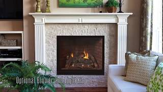 Tahoe Luxury Clean-Face Direct-Vent Fireplaces
