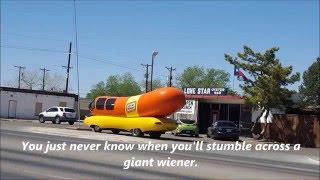 Oscar Mayer Wienermobile in Lubbock