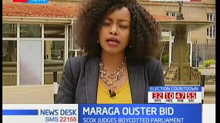 What to expect in coming days on Justice Maraga's ouster bid