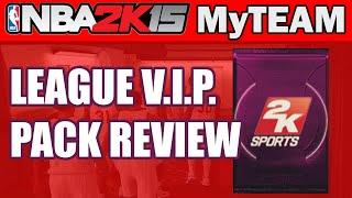 NBA - NBA 2K15 MyTeam Pack Opening - LEAGUE VIP ACCESS PACK REVIEW | NBA 2K15 PS4