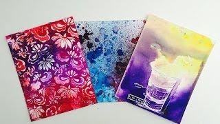 Introduction: Ken Oliver Color Bursts and 3 backgrounds
