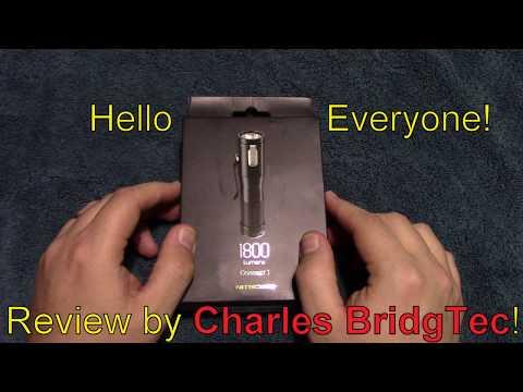 Nitecore Concept 1 Flashlight Review!