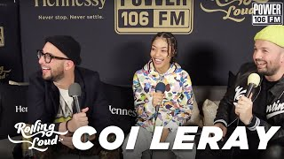"""Coi Leray Talks """"Huddy"""" Single, Names Chris Brown """"King Of R&B"""" + Spider Man """"Save The Day"""" Feature"""