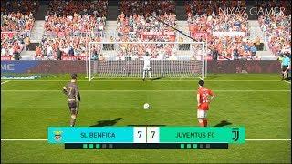 BENFICA vs JUVENTUS | Penalty Shootout | New Kits 2018/2019 | PES 2018 Gameplay PC