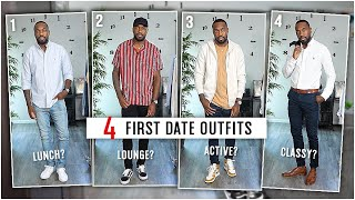 4 FIRST DATE OUTFIT IDEAS | Men's Fashion | Style Inspiration | I AM RIO P.