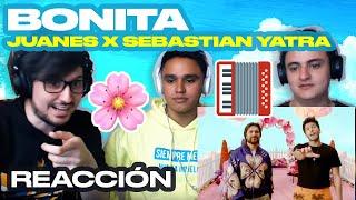 [Reacción] Juanes, Sebastián Yatra   Bonita   ANYMAL LIVE 🔴