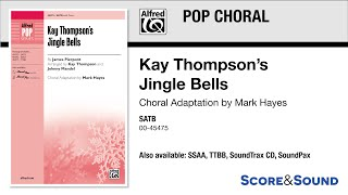 Kay Thompson's Jingle Bells, adapted by Mark Hayes – Score & Sound