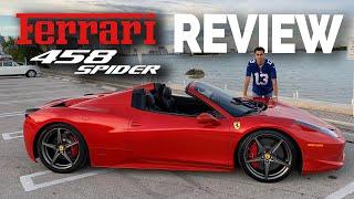 Review FERRARI 458 SPIDER 🏎