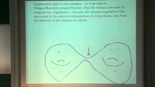 Superstring Perturbation Theory Revisited - string math 2012: Edward Witten