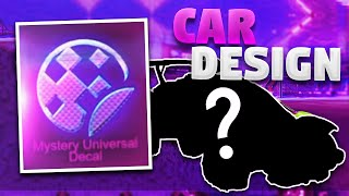 1 Car Design For Every Black Market Decal On Rocket League