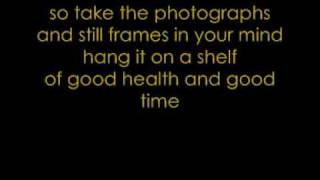 Good Riddance (Time Of Your Life) by Green Day with lyrics