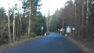 preview picture of video 'Grenzübergang Doubrava Grün - Bad Elster Reuth border crossing'