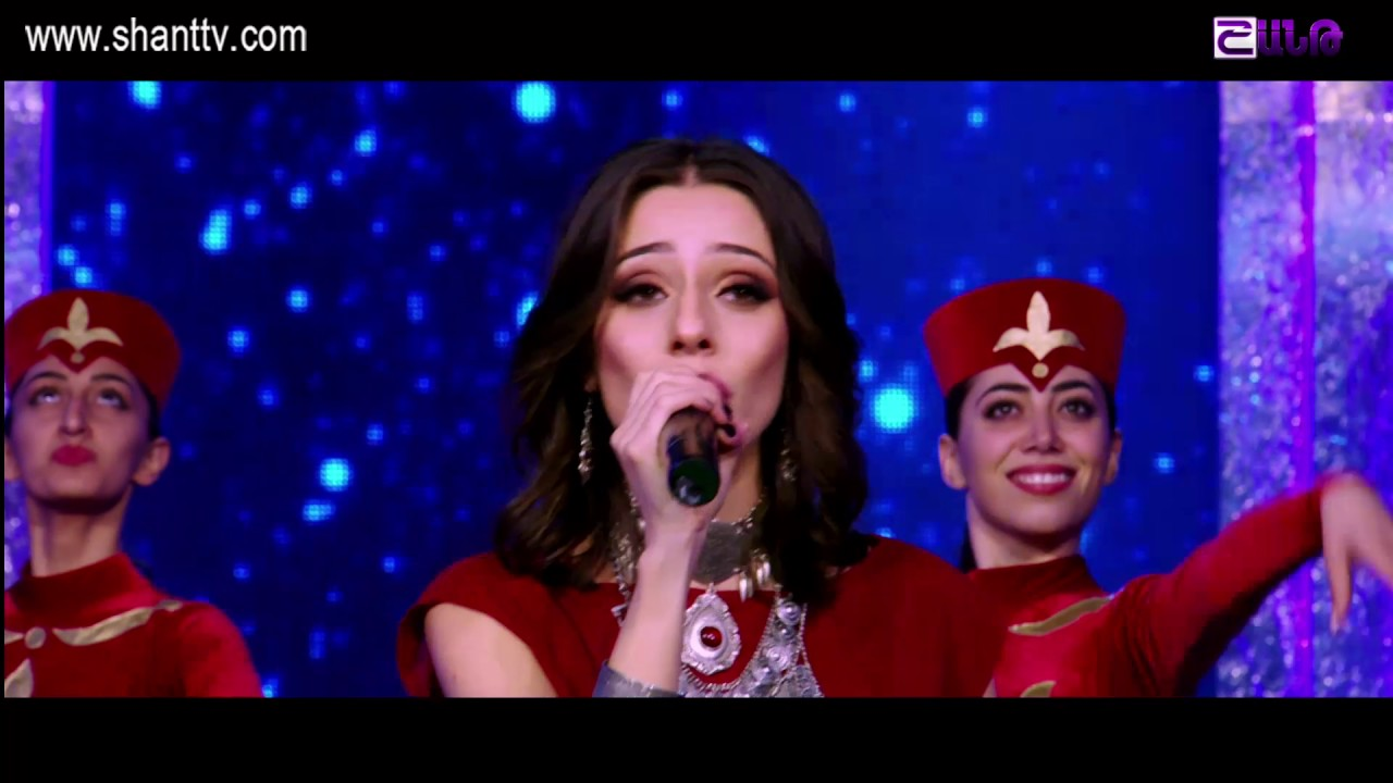 Ամանորը Շանթում/New Year In Shant TV 2016 – Araksya Amirkhanyan