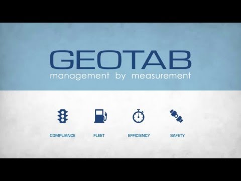 Geotab Telematics Pillar Fleet Compliance