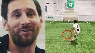 МАЛЕНЬКИЙ РОНАЛДУ ПОВТОРИЛ ФИНТ МЕССИ | Лучшие футбольные видео