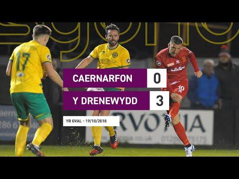 Caernarfon 0-3 Y Drenewydd    Uwch Gynghrair Cymru