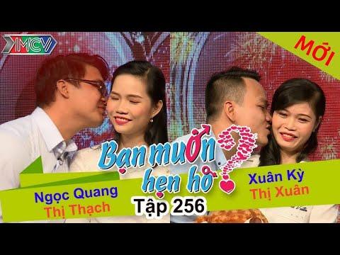 Hình ảnh Youtube -  BẠN MUỐN HẸN HÒ   Tập 256 - FULL   Ngọc Quang - Thị Thạch   Xuân Kỳ - Thị Xuân   260317