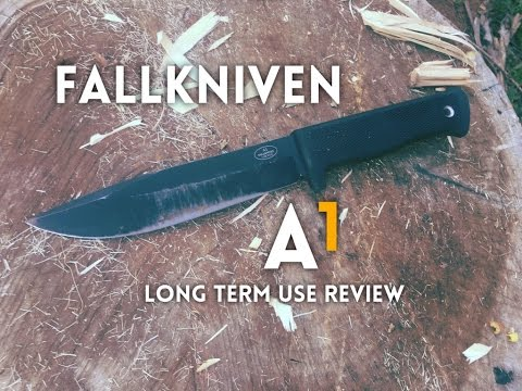 Fallkniven A1 Survival Knife Long Term Use Review