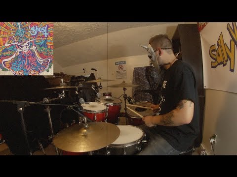SallyDrumz - Ghost - Mary On A Cross Drum Cover