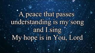 My Hope is in You - Aaron Shust