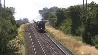 preview picture of video '46233 Duchess of Sutherland Cathedrals Express 19 July 2008'