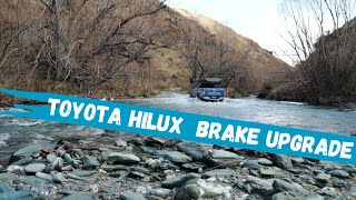 Best Brakes for Toyota Hilux