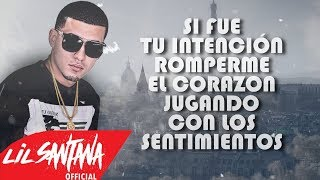 Amor En Condiciones (Letra) - Lil Santana (Video)