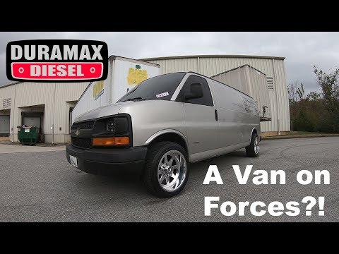 Derrick's 2007 Chevy Express 6.6 LBZ Duramax Van on American Forces: Truck Review