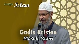 Gadis Kristen Filipina Masuk Islam di Acara Dr. Zakir Naik