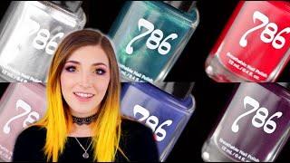 Halal Nail Polish Review and Swatches: 786 Cosmetics || KELLI MARISSA