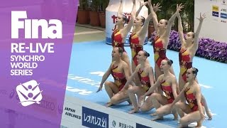 RE-LIVE | Day 1 Part 2 | FINA Synchronised Swimming World Series 2017 - Tokyo