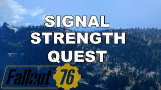 Fallout 76 - Top Of The World (Signal Strength Quest)