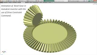 Animation Of A Bevel Gear_1