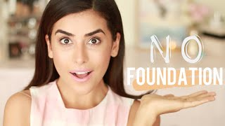 NO FOUNDATION Makeup Tutorial | Flawless Finish (EASY)