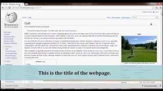 SEO - Difference between the title and heading of a webpage